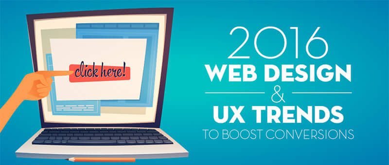 The 10 web design trends to boost your conversions in 2016