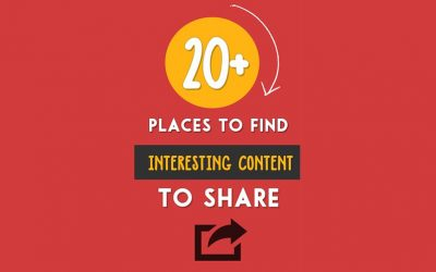 21 places to find interesting content to share