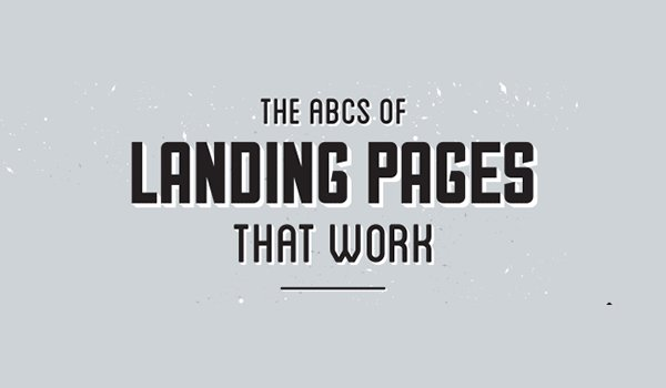 The A to Z of your landing page