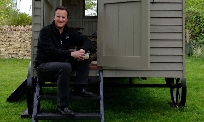 David Cameron Bought a Hut (and Why That's Important for your Website)